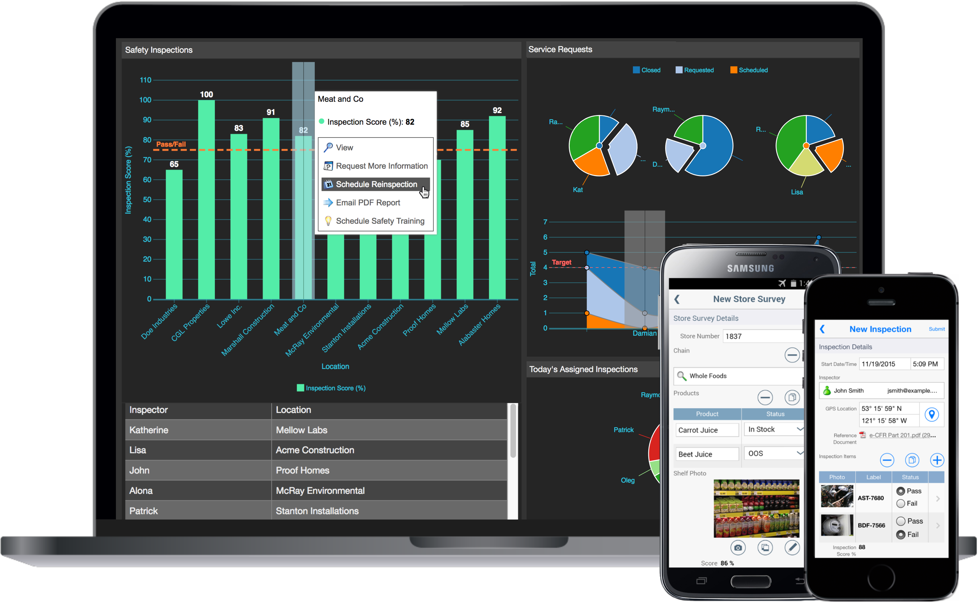 Publish cross-platform applications that are instantly available through a web UI and native iOS and Android clients.
