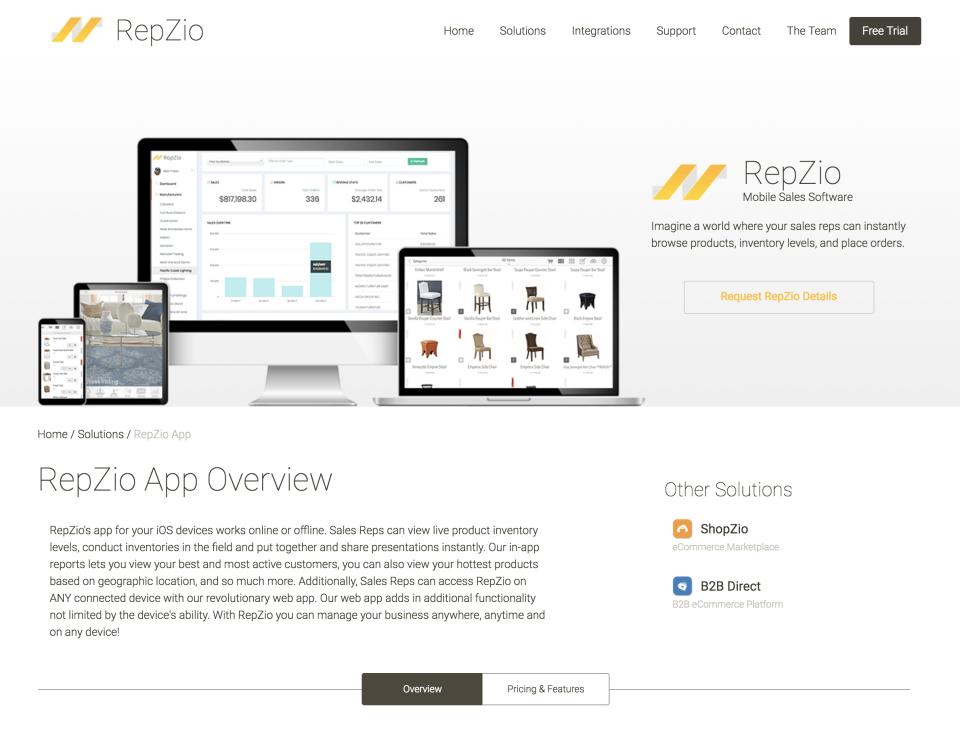 RepZio Software - 1