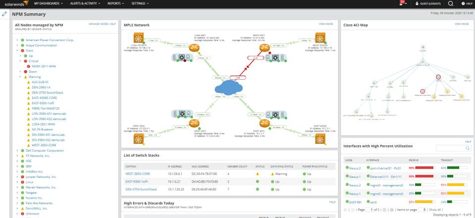 Network Performance Monitor Logiciel - 2