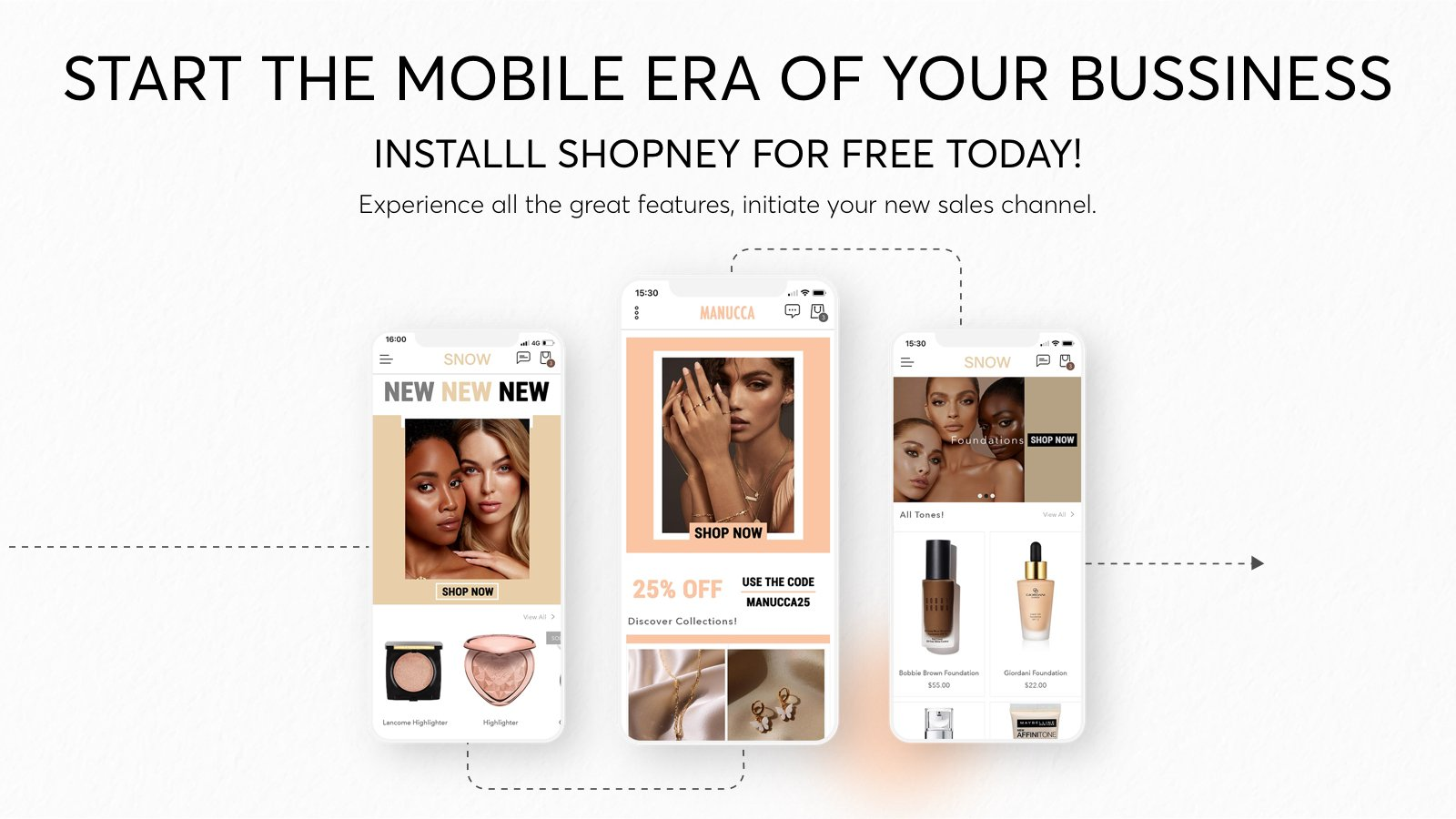 Turn your Shopify Store into mobile app