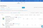 BuzzSumo screenshot: Influencer Search - Discover the accounts that influence your audience across Twitter, YouTube and the web. Use BuzzSumo's new Journalists Tool to identify relevant journalists and make better media connections, faster.