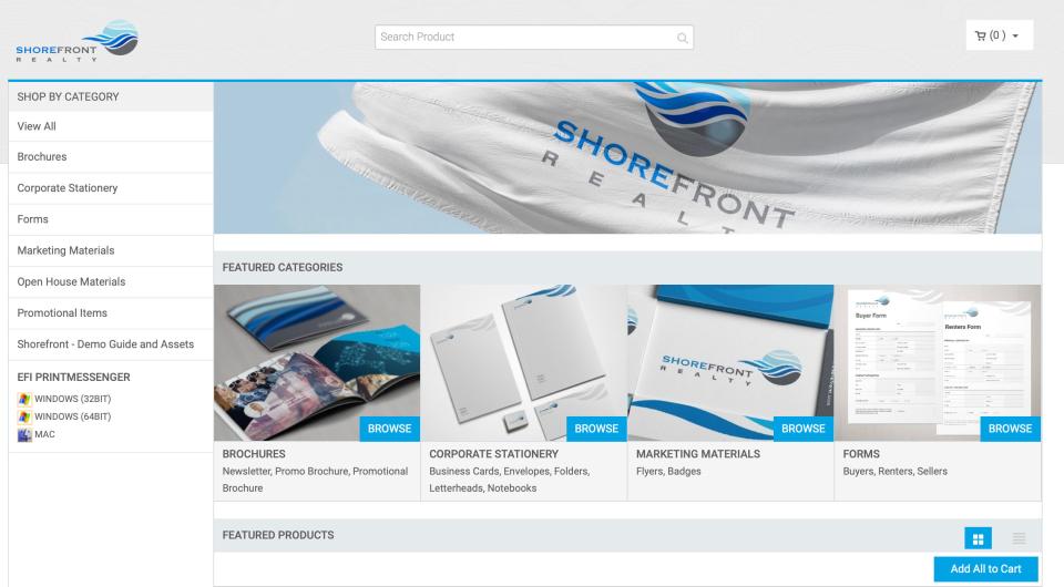 Custom site designs