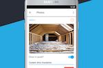 JobFLEX screenshot: Attach photos to quotes