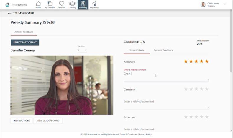 Brainshark video-based content