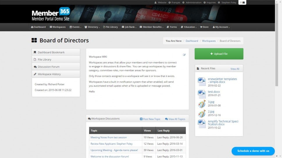 Member365 Software - Committees