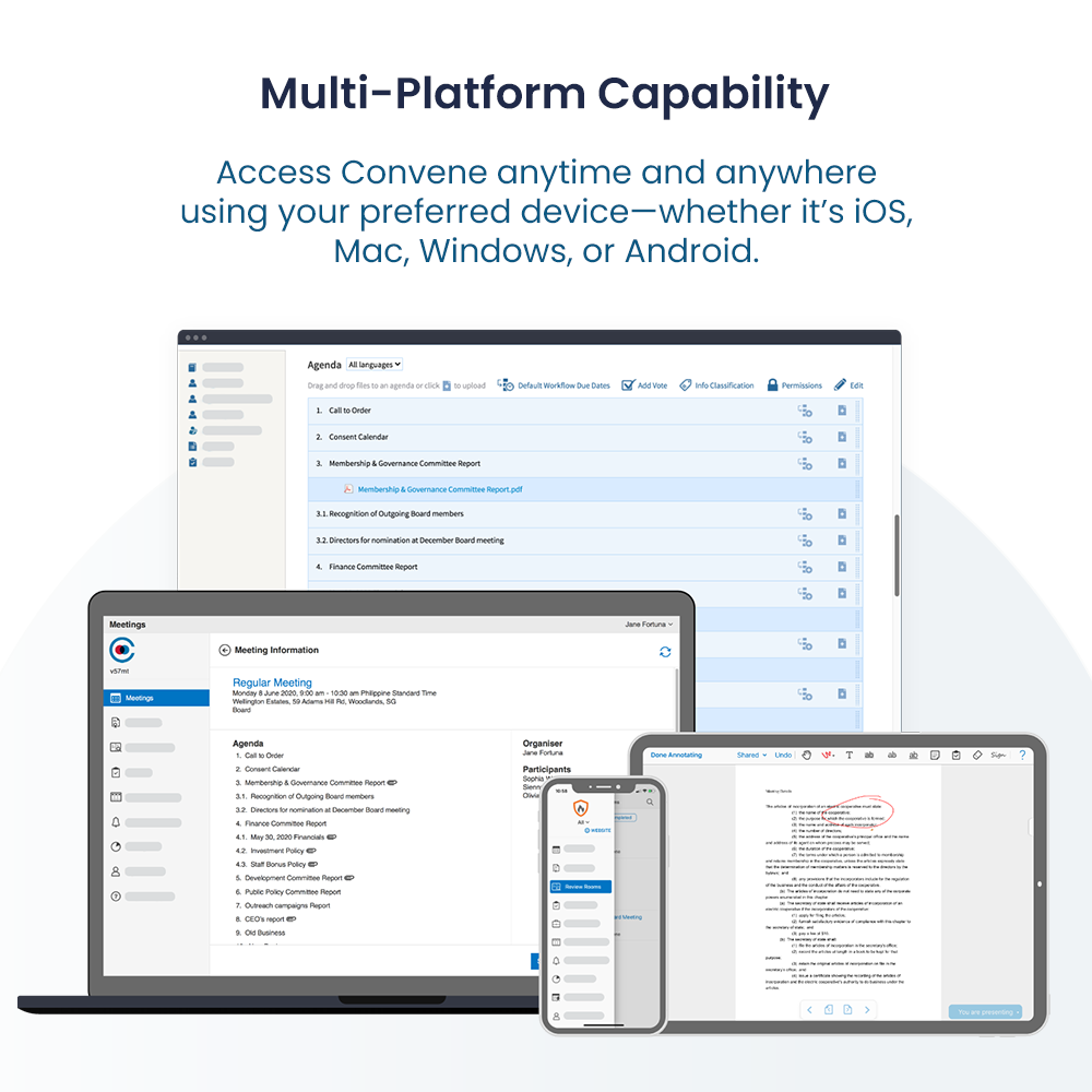 Multi-Platform Capability