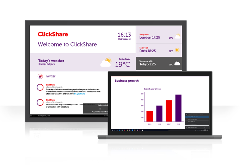 ClickShare Presentation Logiciel - 1