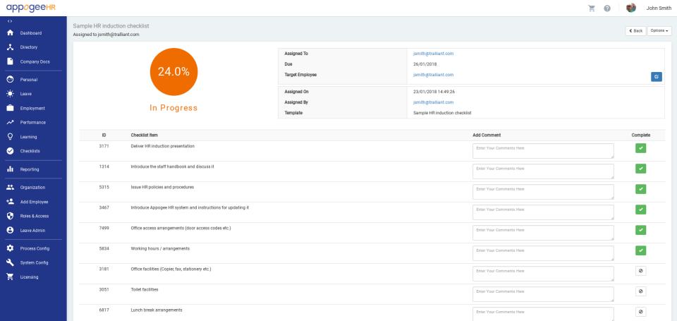 Appogee HR Software - 4
