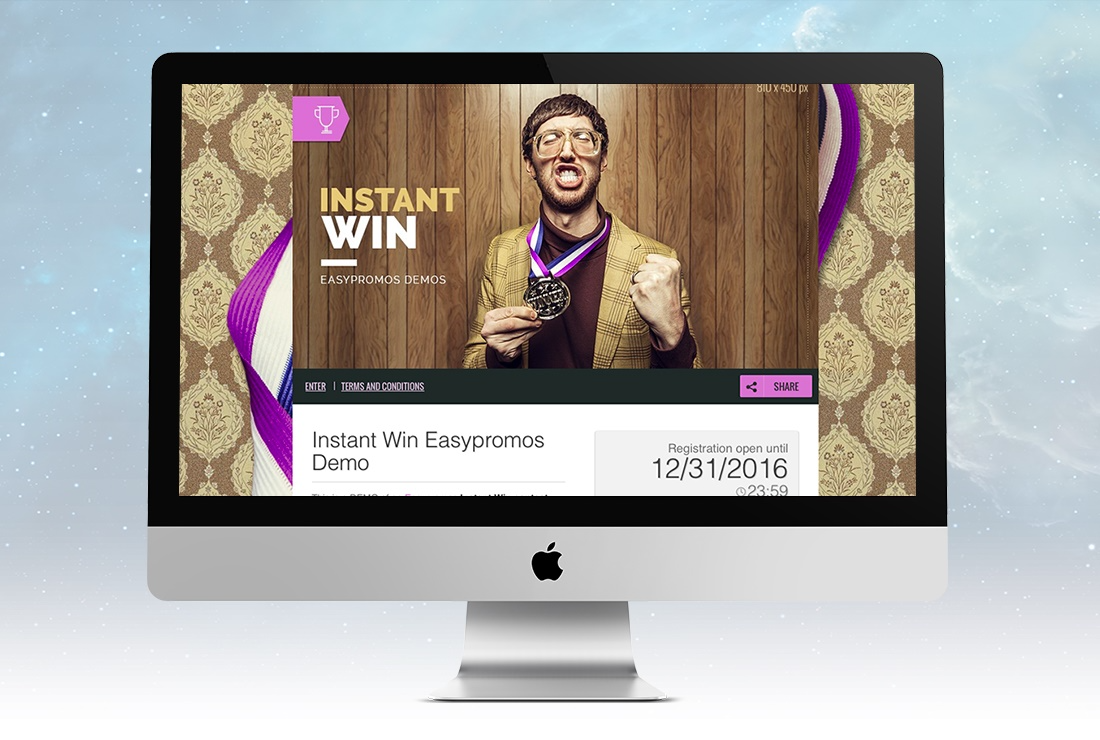 Highlight and customize campaigns with personalized colors, images and graphics