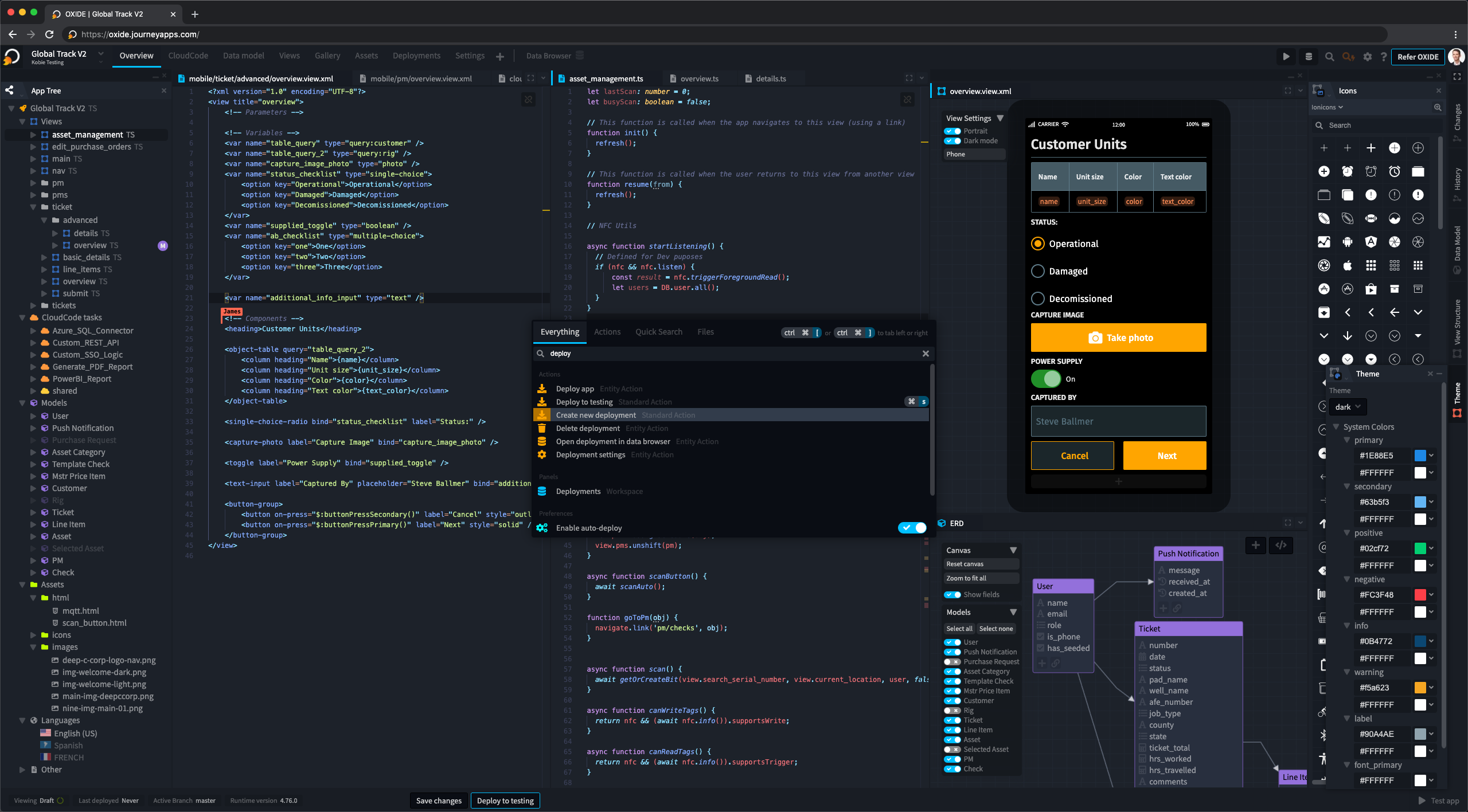 OXIDE IDE Interface
