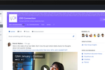 Yammer screenshot: Channel page