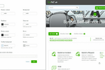 SysAid Screenshot: Easily customize SysAid's Self-Service Portal theme with a few clicks.