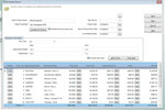 Captura de tela do Denali Business: The payroll processing grid is used to prepare employee payroll for processing