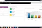 Capture d'écran pour onclouderp : OnCloudERP inventory summary screenshot