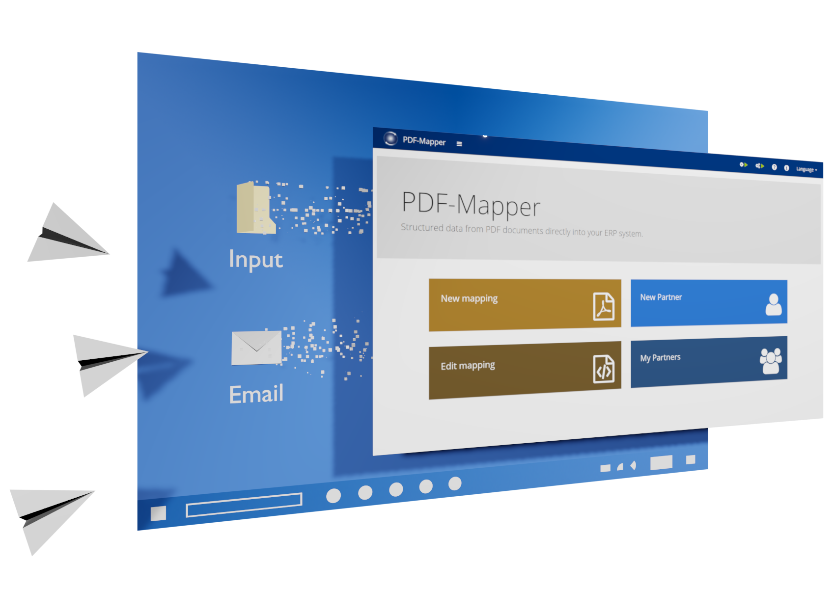 Automatic Input via Email or Import Folder
