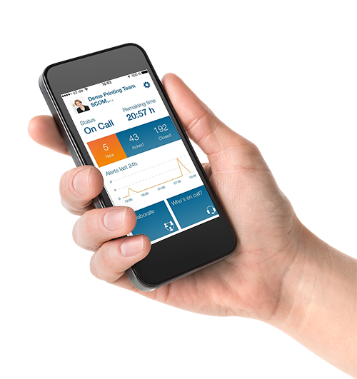 Intuitive mobile app for alert response and management