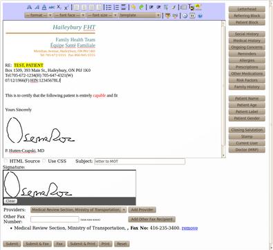 Oscar EMR by Oscar McMaster Software - 3