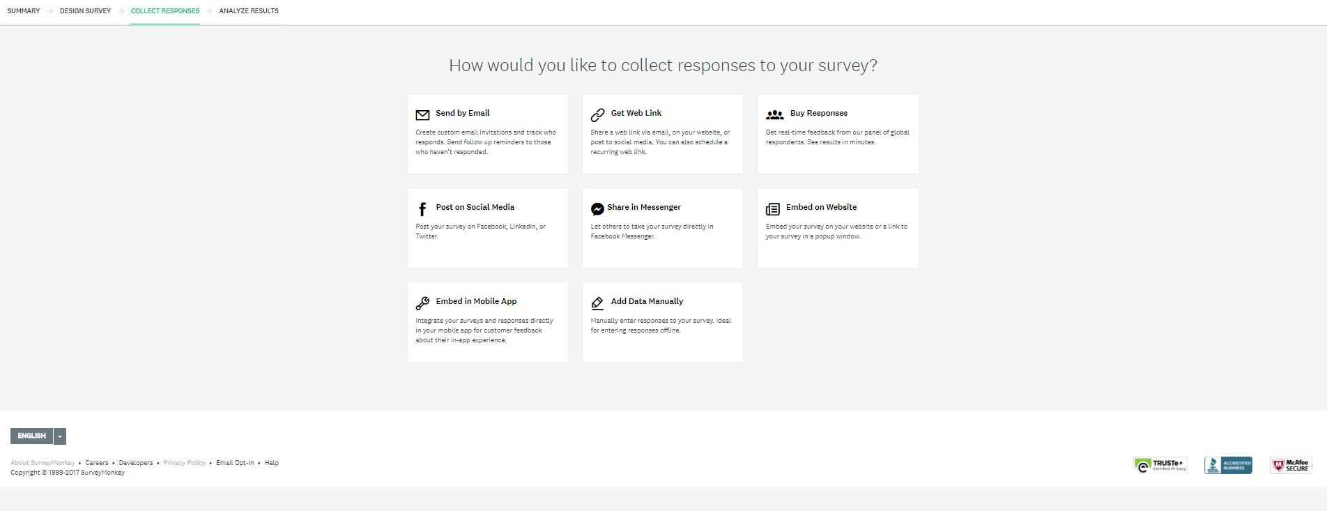 SurveyMonkey Software - Collect responses