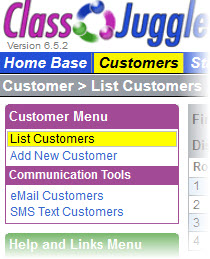 ClassJuggler Software - Customer list