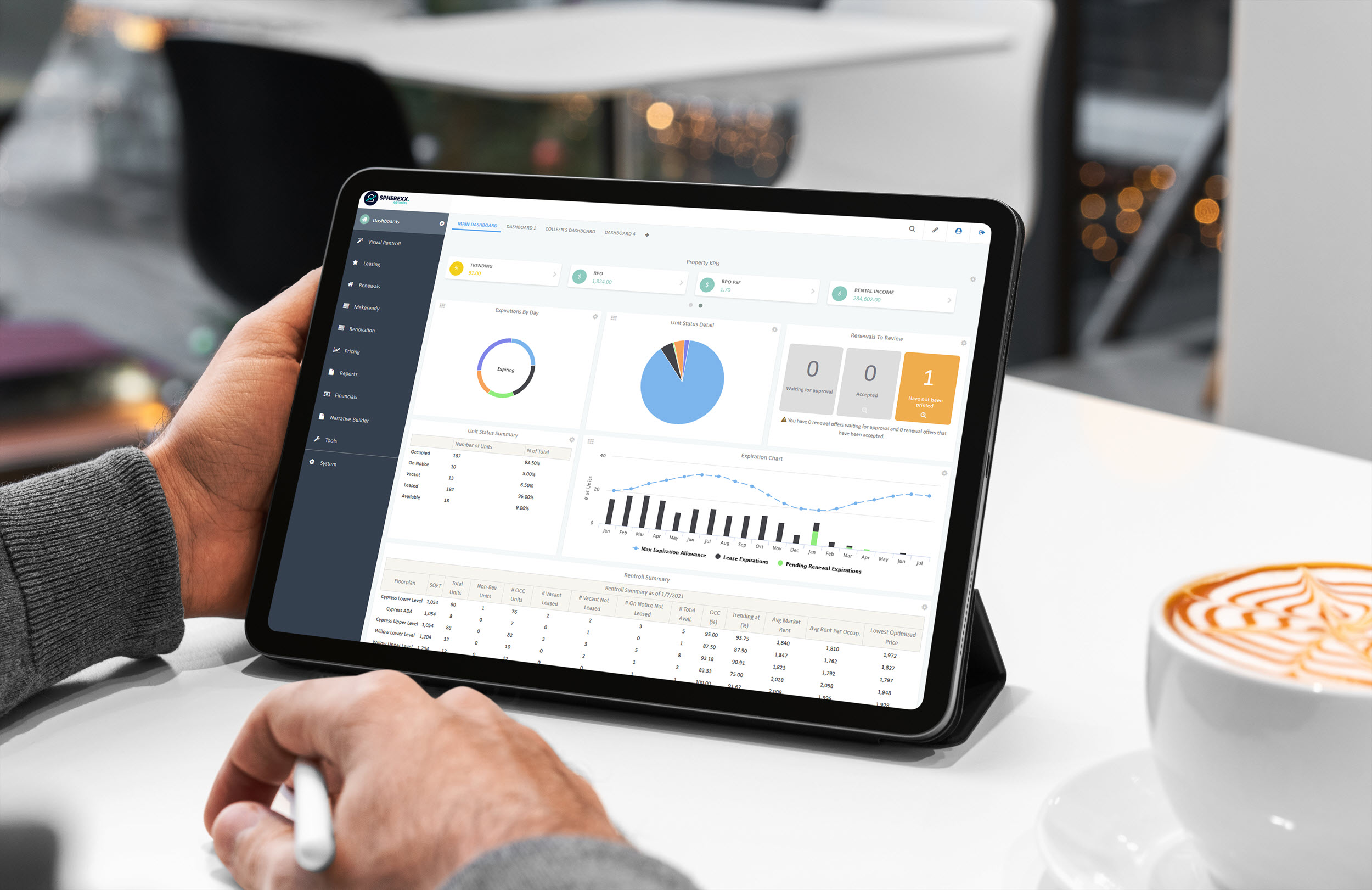 Spherexx Optimize Revenue Management