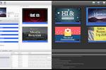 EasyWorship screenshot: EasyWorship's dark interface