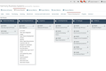 Captura de pantalla de HarmonyPSA: Harmony delivers fully configurable and personalised Kanban boards across the entire system, from Sales to Finance. All core business processes can be visualised in seconds, published to teams or kept private.