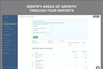 Capture d'écran pour Sunrise : Identify areas of growth through your reports.