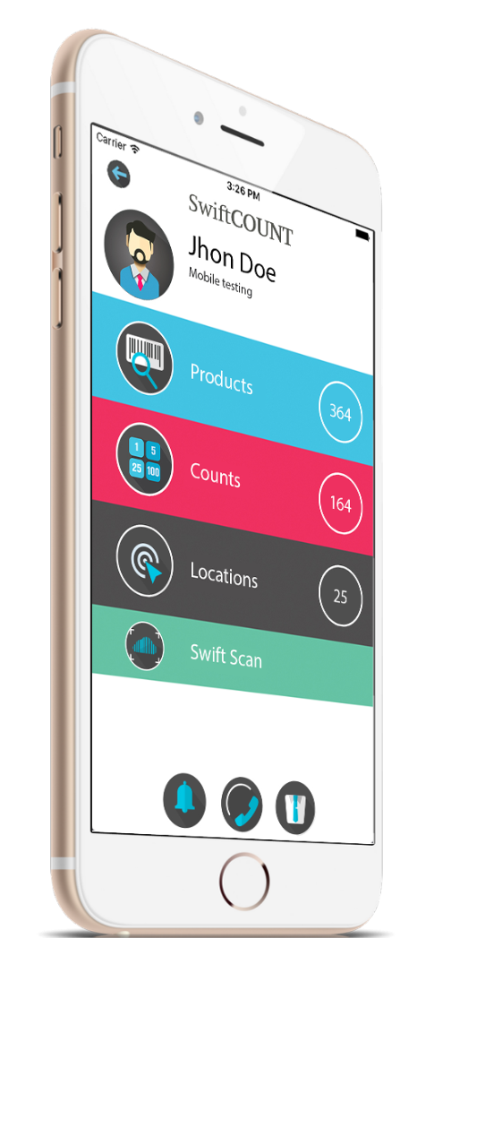 SwiftCount Software - Mobile Hub