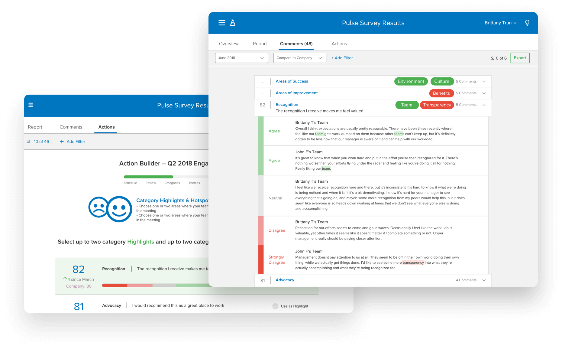 Achievers Software - Feedback