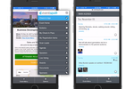Captura de pantalla de Eventsquid: A pre-built mobile Eventsquid app is available without any app store installation required, running inside the web browser of any smart device