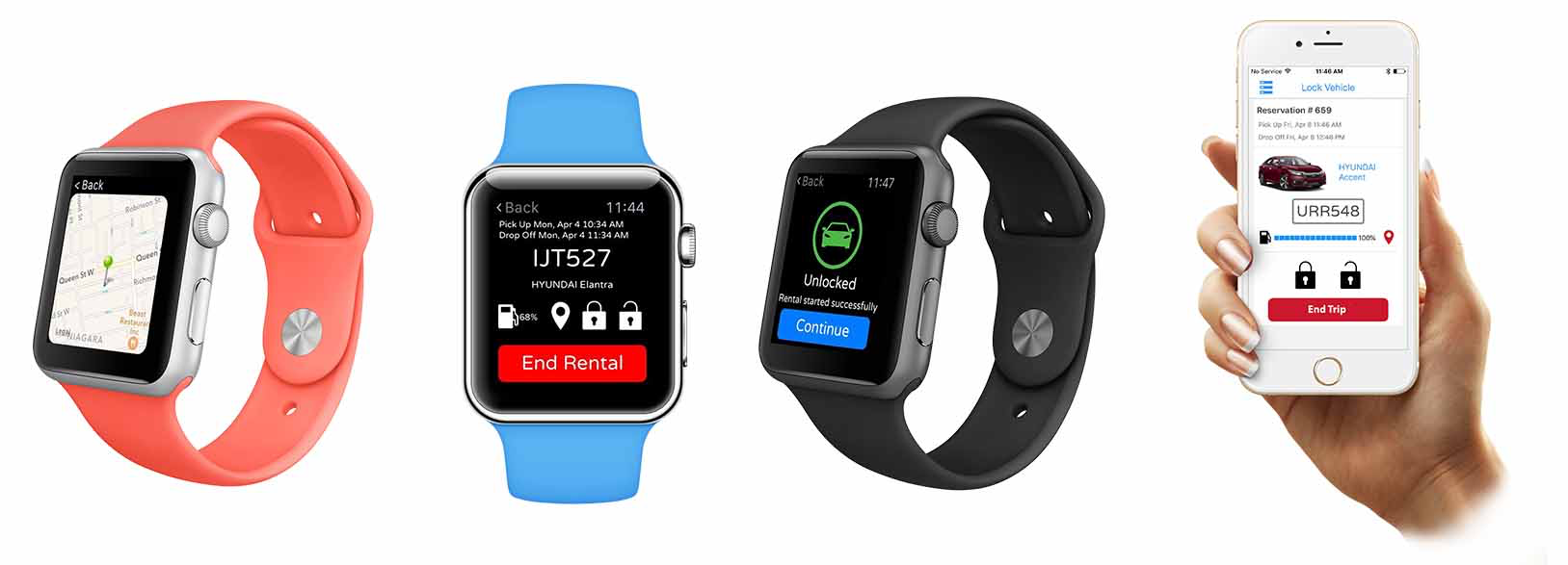 Rent Centric on Apple watches