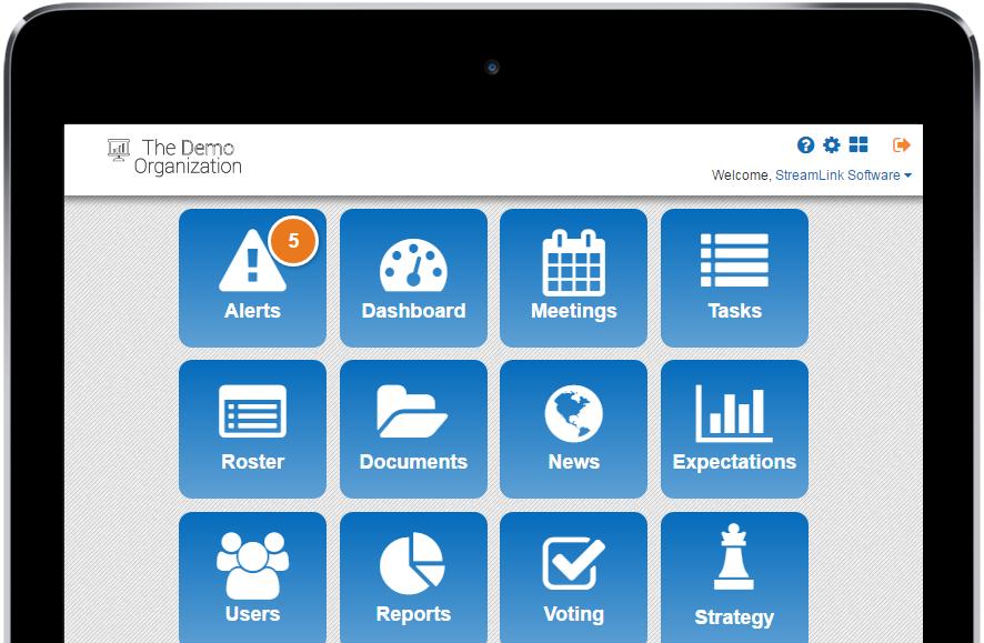 BoardMax Software - Tablet access