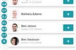 Chmeetings screenshot: Track member participation