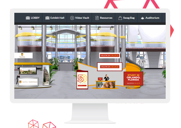 Access a range of ready-made booth templates and choose the one that fits best