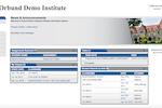 Orbund screenshot: Einstein - Instructor Portal