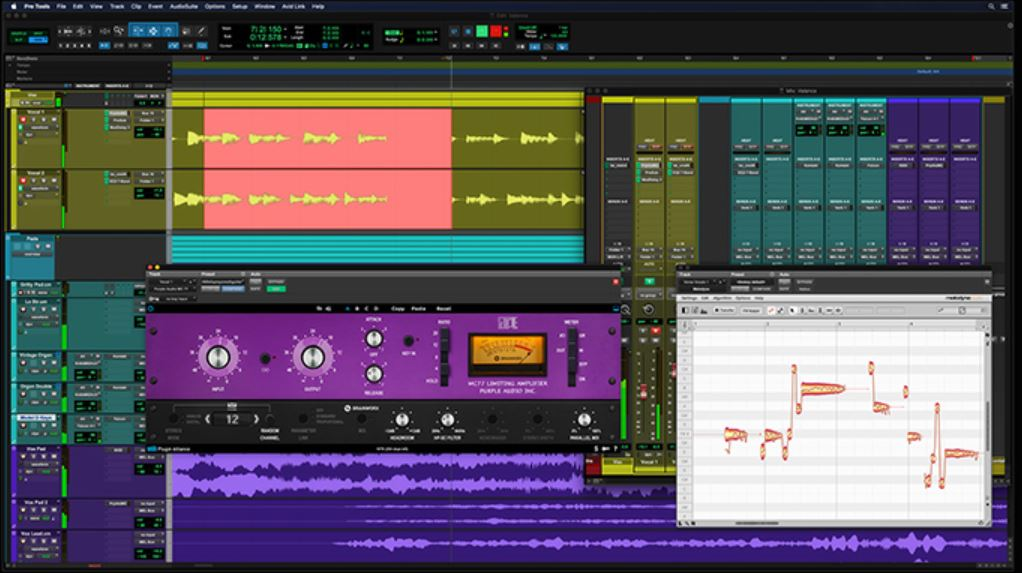 Pro Tools dashboard