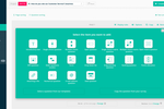 Startquestion screenshot: Choose from multiple question types when creating surveys
