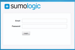 Sumo Logic screenshot: SumoLogic-LogManagement-Login