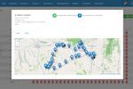 FieldEZ screenshot: Auto-calculate distance traveled and arrive at expense reimbursements