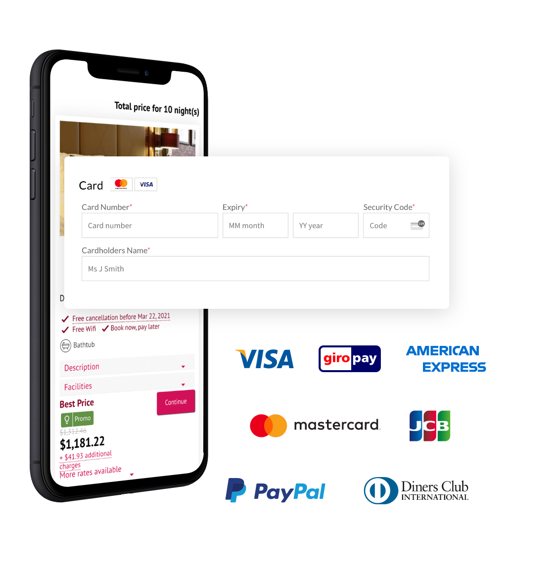 Online Payment Processing & Pre-Authorisation - Payment Manager