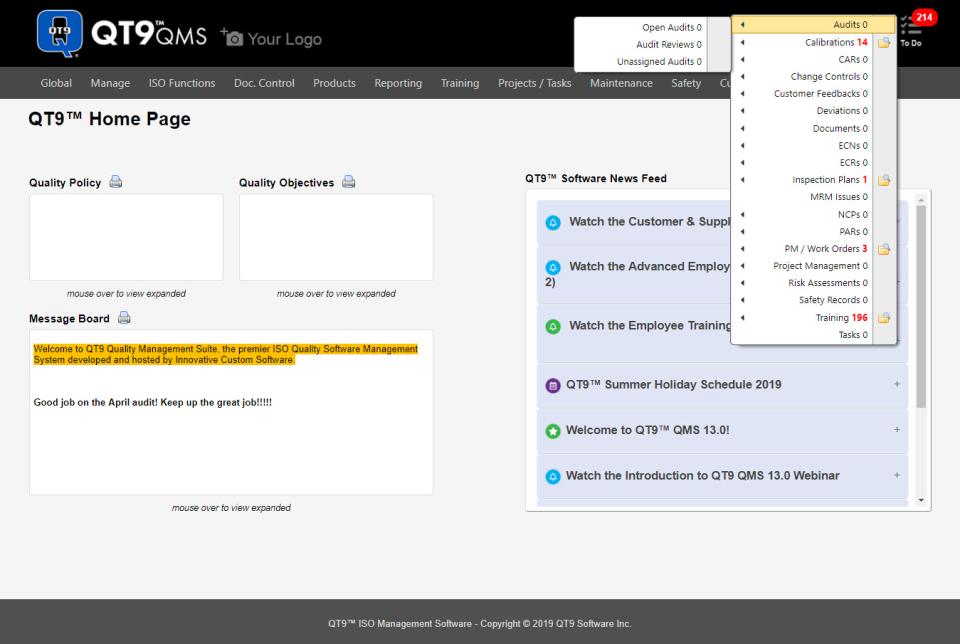 QT9 QMS Software - 1