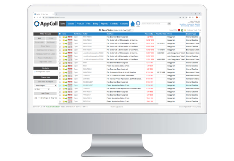 AppColl Prosecution Manager Software - 1