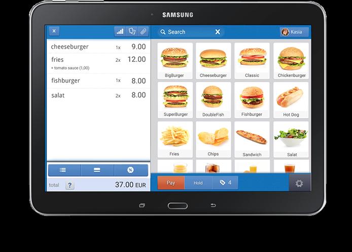 POSbistro tablet app