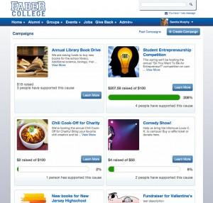 360Alumni campaigns