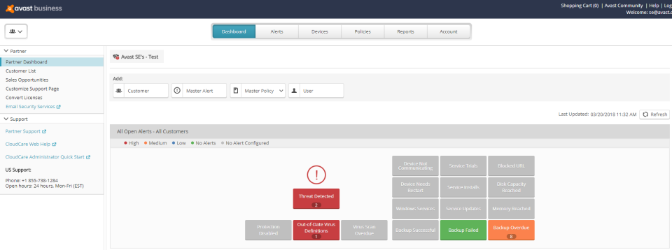 Avast Business CloudCare Logiciel - 1