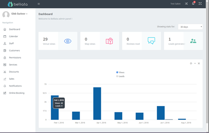 Customer satisfaction feature that automatically follows up with customers after an appointment