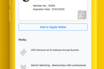 Raklet screenshot: Raklet: Manage digital membership cards via mobile