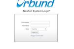 Orbund screenshot: Orbund Log-in Page