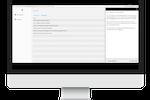 Gluru AI screenshot: Dashboard while viewing a 'Document'