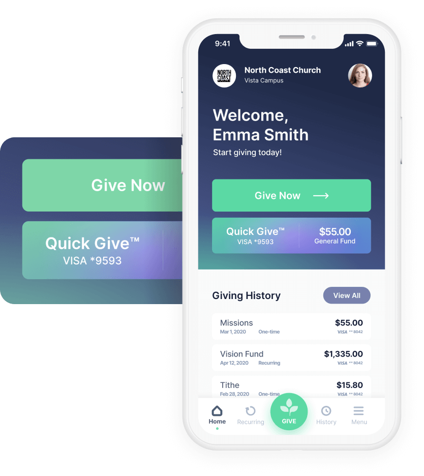 Tithe.ly Software - Tithe.ly Giving App